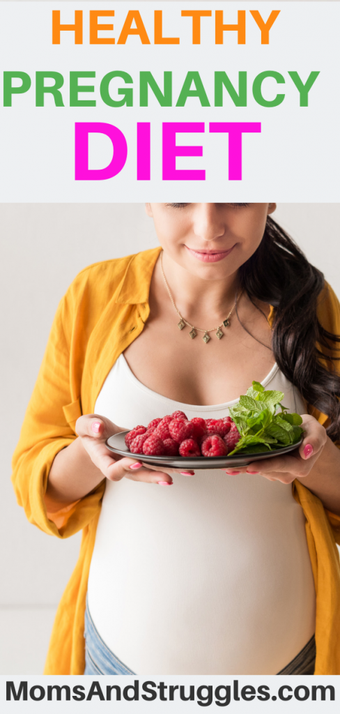 healthy pregnancy menu