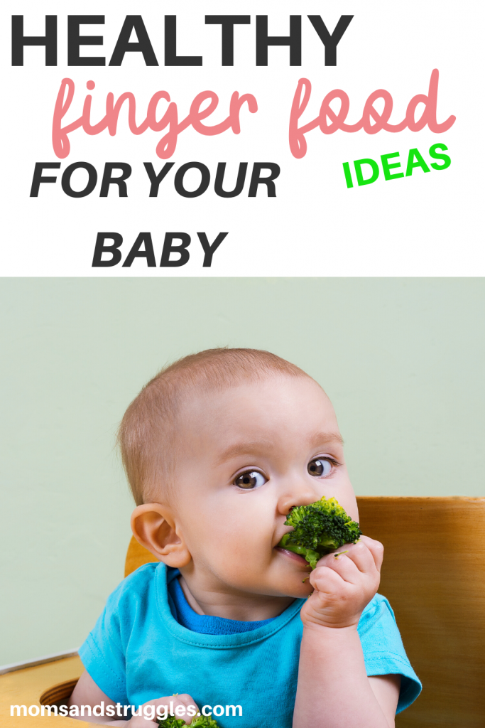 healthy finger food for baby